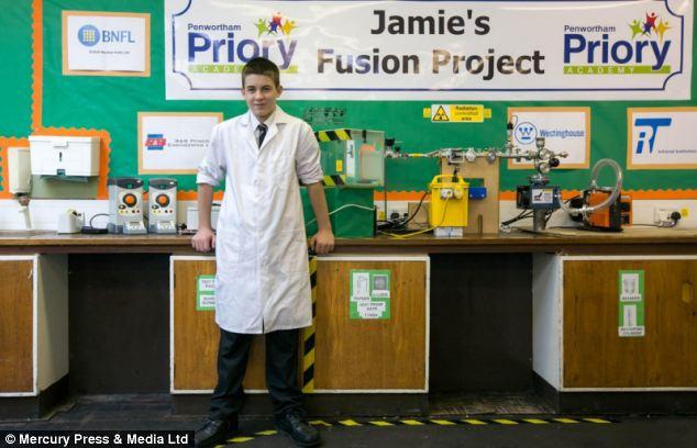 همجوشی هسته ای توسط دانش آموز 13 ساله در مدرسه!