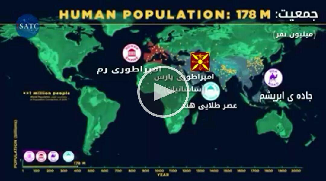 تاریخچه ی رشد جمعیت از ابتدا تا امروز!
