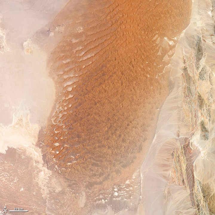 کویر لوت گرمترین نقطه ی زمین