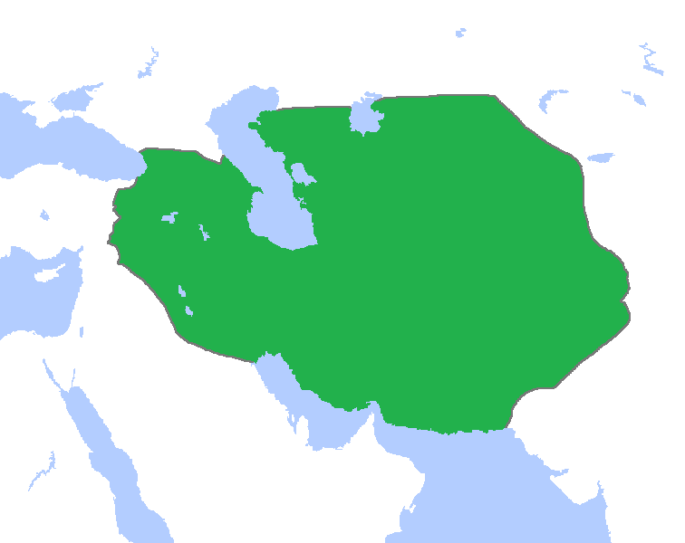 وسعت امپراتوری تیموریان