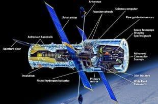 حسگر ها و سنسور های موجود در تلسکوپ هابل