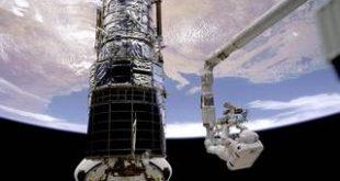 تلسکوپ فضایی هابل چند بار تعمیر شده است؟