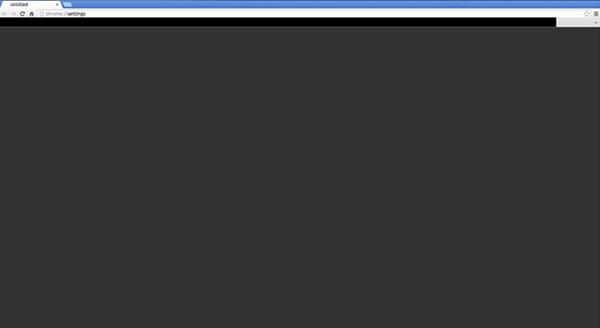 مشکل سیاه شدن صفحه مرورگر کروم از چیست؟